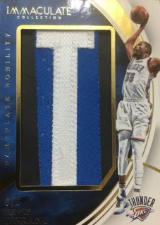 2015-16 Panini IMMaculate Kevin Durant Nameplate Nobility 6枚限定 ポニーランド PTY様