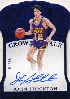 2015-16 PANINI PREFERRED Auto Blue Auto John Stockton 【15枚限定】Rookie Star RS60様