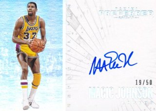 2015-16 PANINI PREFERRED Auto Magic Johnson 【50枚限定】Rookie Star RS60様