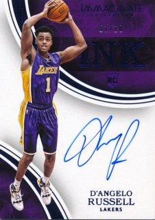 2015-16 PANINI IMMACULATE COLLECTION Blue Auto  Russell 【10枚限定 Jersey Number 】Rookie Star RS61様
