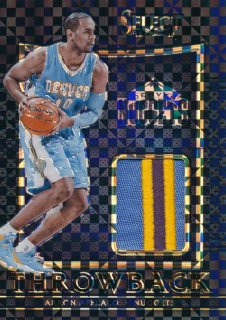 2015-16 PANINI SELECT Black Prizm Patch Arron Afflalo 【1枚限定】Rookie Star RS71様