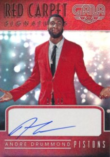 2015-16 PANINI GALA Auto Andre Drummond 【30枚限定】Rookie Star RS82様