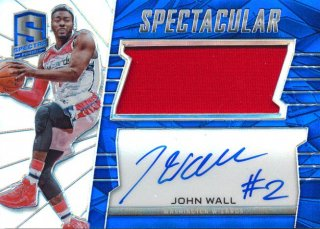 2015-16 PANINI SPECTRA Jersey Auto John Wall 【35枚限定】Rookie Star RS83様
