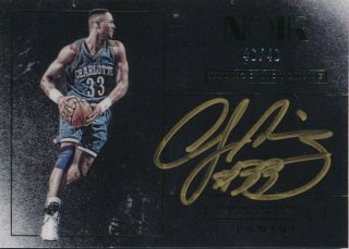 2015-16 PANINI NOIR Auto Alonzo Mourning 【49枚限定】Rookie Star RS84様