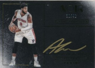 2015-16 PANINI NOIR Auto Andre Drummond 【49枚限定】Rookie Star RS84様