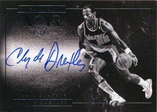 2015-16 PANINI NOIR Auto Clyde Drexler 【40枚限定】Rookie Star RS84様