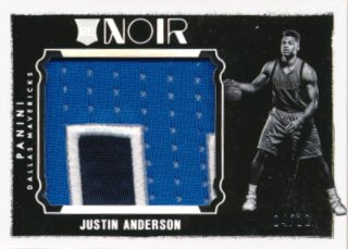 2015-16 PANINI NOIR RC Jumbo Patch Justin Anderson 【25枚限定】Rookie Star RS84様