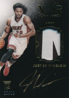 2015-16 PANINI NOIR RC Patch Auto Justise Winslow 【99枚限定】Rookie Star RS84様