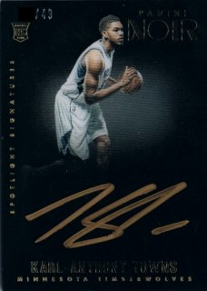2015-16 PANINI NOIR Spotlight Signatures Karl-Anthony Towns 【49枚限定】 / 新宿店 RUSSELL01様
