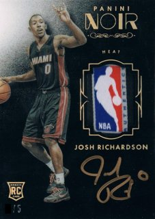 2015-16 PANINI NOIR Rookie Patch Autograph Tags Josh Richardson 【5枚限定】 / 新宿店 RUSSELL01様