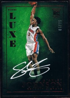 2015-16 PANINI LUXE Autographs Ruby Stanley Johnson 【25枚限定】 / 新宿店 Ricky様
