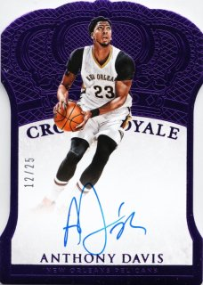 2015-16 Panini Preferred Autographs Purple Anthony Davis【25枚限定】ミント札幌店 よし様