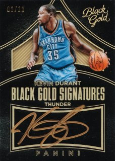 2015-16 Panini Black Gold Black Gold Signatures Gold Kevin Durant【10枚限定】ミント札幌店 カビー様