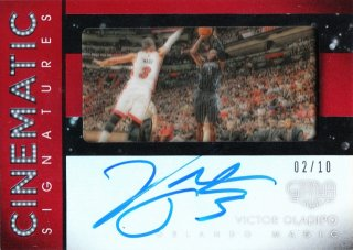 2015-16 Panini Gala Cinematic Signatures Crimson Victor Oladipo【10枚限定】ミント札幌店 カビー様