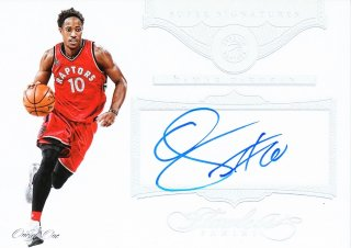2015-16 Panini Flawless Super Signatures Platinum DeMar DeRozan【1枚限定】ミント札幌店 よし様