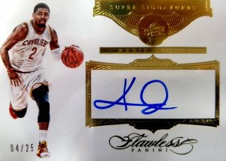 2015-16 Panini Flawless Super Signatures Kyrie Irving【25枚限定】ミント札幌店 よし様