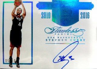 2015-16 Panini Flawless USA Gold Medals Stephen Curry 【10枚限定】ミント札幌店 Tezcatlipoca様