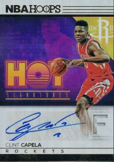 2016-17 PANINI HOOPS Hot Signatures Clint Capela / MINT新宿店 越前父様