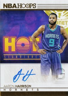2016-17 Panini Hoops Hot Signatures Aaron Harrison ミント札幌店 キャボション様