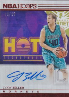 2016-17 Panini Hoops Cody Zeller Auto Red 25枚限定 ポニーランド H様