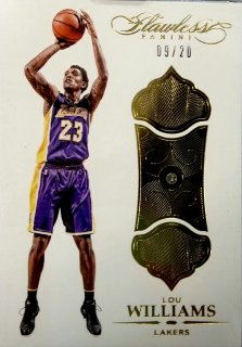 2015-16 PANINI FLAWLESS Lou Williams 【20枚限定】 / MINT新宿店 ロールズ様