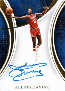 2015-16 Panini immaculate Signatures Julius Erving 【60枚限定】ミント札幌店 うなぎ様