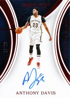 2015-16 Panini immaculate Autographs Red Anthony Davis【25枚限定】ミント札幌店 ノリア様