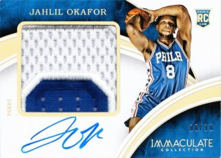 2015-16 Panini immaculate Premium Patch Autographs Jahlil Okafor【10枚限定】ミント札幌店 friend様