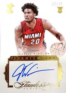 2015-16 PANINI Flawless Premium Ink Justise Winslow 【25枚限定】/MINT立川店 あよ様