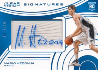 2015-16 PANINI CLEAR VISION Auto Mario Hezonja 119枚限定 Rookie Star RS16様