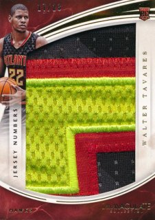 2015-16 PANINI IMMACULATE COLLECTION Jumbo Patch Walter Tavares 23枚限定 Rookie Star RS85様