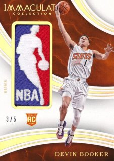 2015-16 PANINI IMMACULATE COLLECTION RC NBA Logo Patch Devin Booker 5枚限定 Rookie Star RS85様