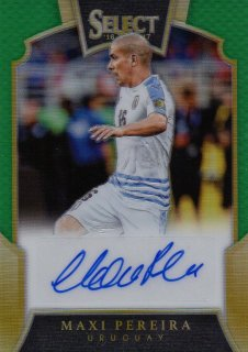 2016-17 PANINI Select Green Parallel Signatures Maxi Pereira 【5枚限定】 / MINT池袋店 ミリク様