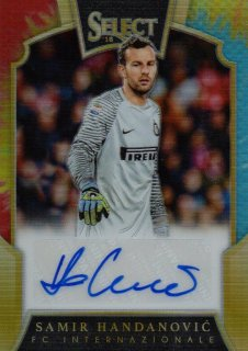 2016-17 PANINI Select Tie-Dye Parallel Signatures Samir Handanovic 【25枚限定】 / MINT池袋店 ラーム様