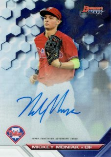 2016 TOPPS Bowman's Best Best of 2016 Autographs  Mickey Moniak /MINT立川店 TANA07様