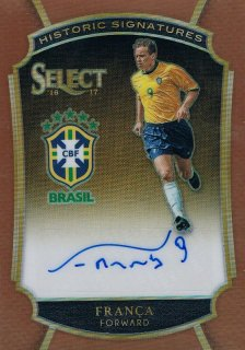 2016-17 PANINI SELECT SOCCER Historic Signatures Copper Franca 【49枚限定】 / MINT新宿店 マサ様