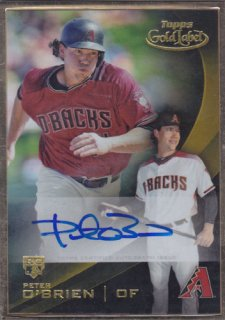 2016 Topps Gold Label O'brien Auto ポニーランド OK様