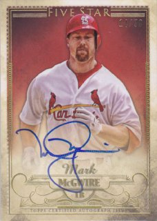 2016 Five Star Mark McGwire Auto 50枚限定 ポニーランド MM様