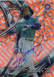 2016 Topps High Tek Autographs Card (Magma Diffractor) Ken Griffey Jr. 【25枚限定】 梅田店 マリス様