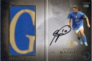 EPOCH 2016 ROBERTO BAGGIO LIFE OF THE FANTASISTA Letter Della Maglia Gara Azzurri 【7枚限定】 神田店 H様