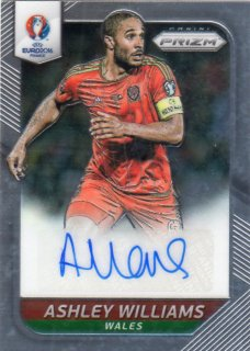 PANINI 2016 EURO PRIZM Autograph Card Ashley Williams 神田店アキロス様
