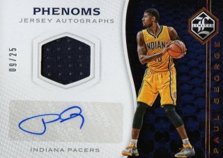 2016-17 PANINI Limited Phenoms Jersey Autographs Paul George 【25枚限定】 / MINT池袋店 ジョーカー様