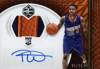 2016-17 PANINI Limited Gold Spotlight Rookie Jersey Autographs Tyler Ulis 【25枚限定】 / MINT池袋店 ジョーカー様