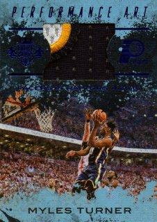 2016-17 PANINI Court Kings Sapphire Performance Art Jerseys Myles Turner 【25枚限定】 / MINT池袋店 サクラメント様