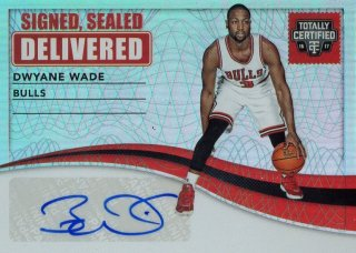 2016-17 PANINI Totally Certified Signed, Sealed, Delivered Dwyane Wade 【25枚限定】 / MINT池袋店 サクラメント様