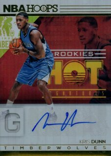 2016-17 PANINI Hoops Hot Signatures Rookies Kris Dunn / MINT池袋店 みっちー様