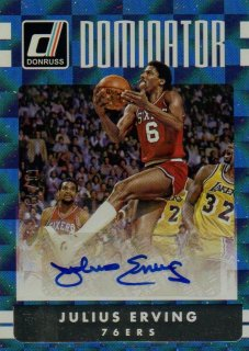 2016-17 PANINI Donruss Dominator Signatures Julius Erving 【49枚限定】 / MINT池袋店 みっちー様