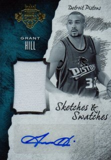 2016-17 PANINI Court Kings Sketches and Swatches Grant Hill 【60枚限定】 / MINT池袋店 ヨッシー様