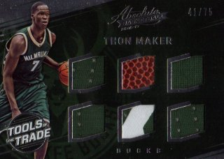2016-17 PANINI Absolute Rookie Materials Thon Maker 【75枚限定】 / MINT池袋店 ジェニングス様
