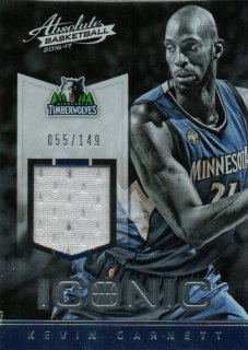 2016-17 PANINI Absolute Iconic Materials Kevin Garnett 【149枚限定】 / MINT池袋店 パズ・ライトイヤー様